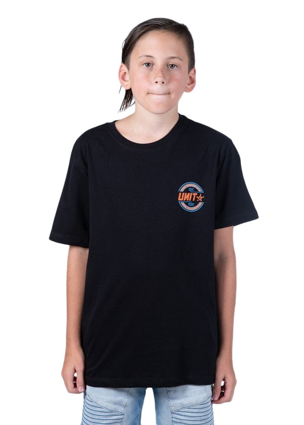 Youth Blaze SS Tee - Black