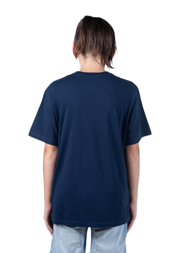 Youth Steady SS Tee - Navy