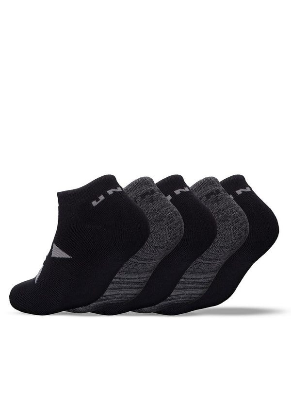 No Show 5 Pack Socks - Multi