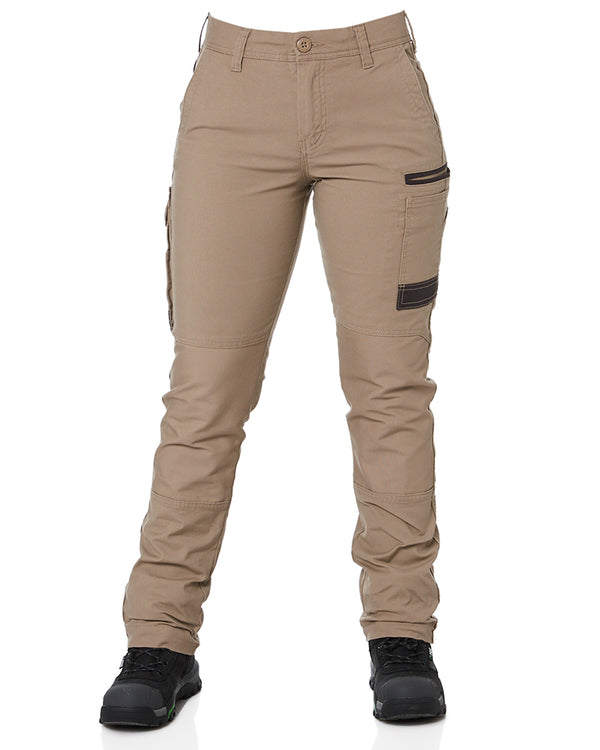 WP-3W Ladies Stretch Work Pants - Khaki