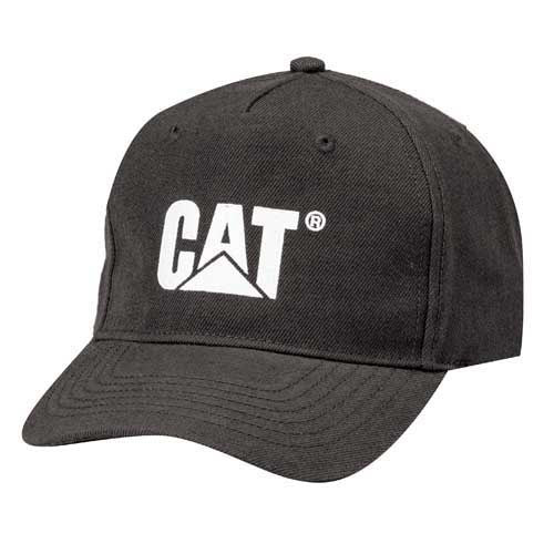 Fitted Cat Hat - Black