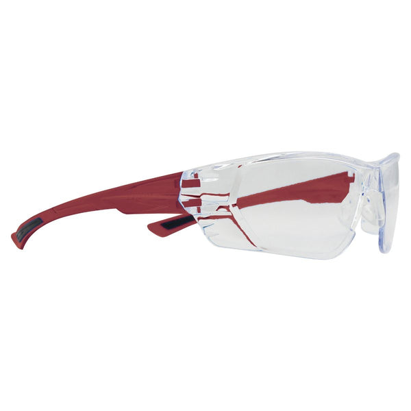 Wedgetail Safety Glasses - Burgundy