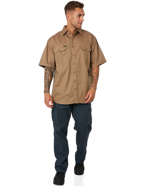 8 Pocket Cargo Pants - Bottle