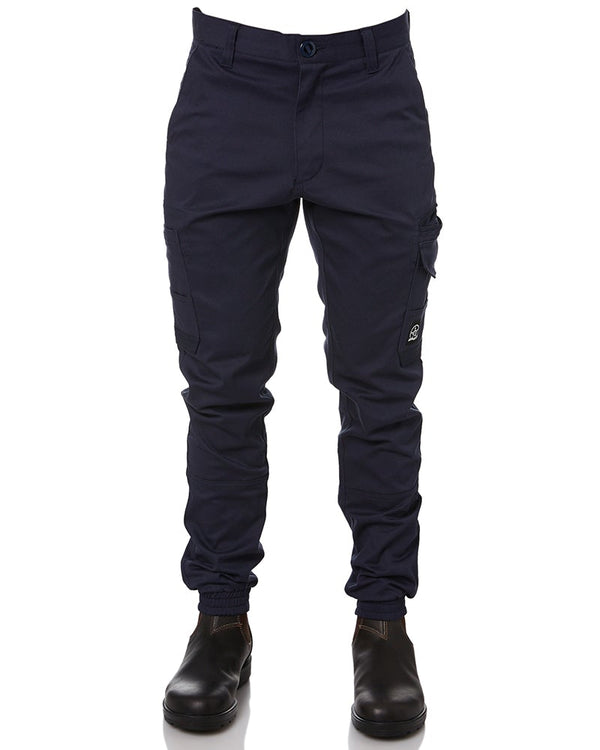 Demolition Cuffed Stretch Cargo Pant - Navy