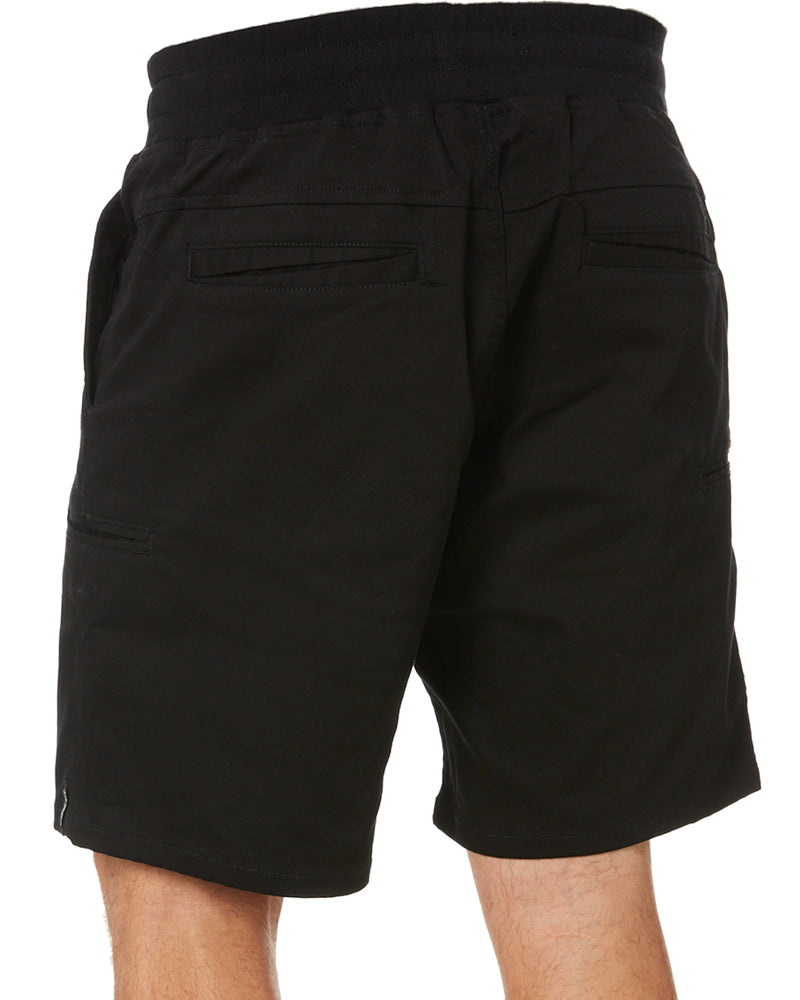 Stretched Out Walk Short - Black