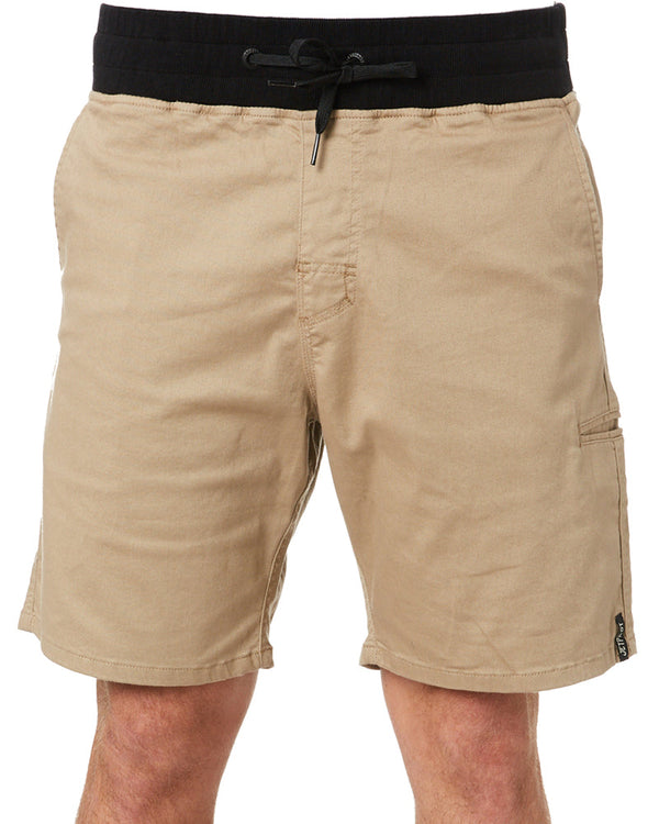 Stretched Out Walk Short - Khaki
