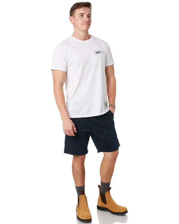 Stretched Out Walk Short - Navy