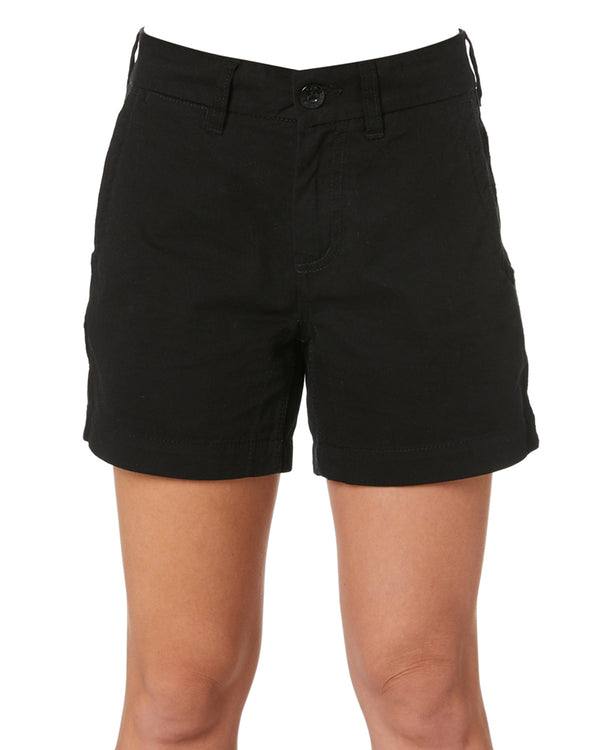 WS-2W Ladies Lightweight Work Shorts - Black