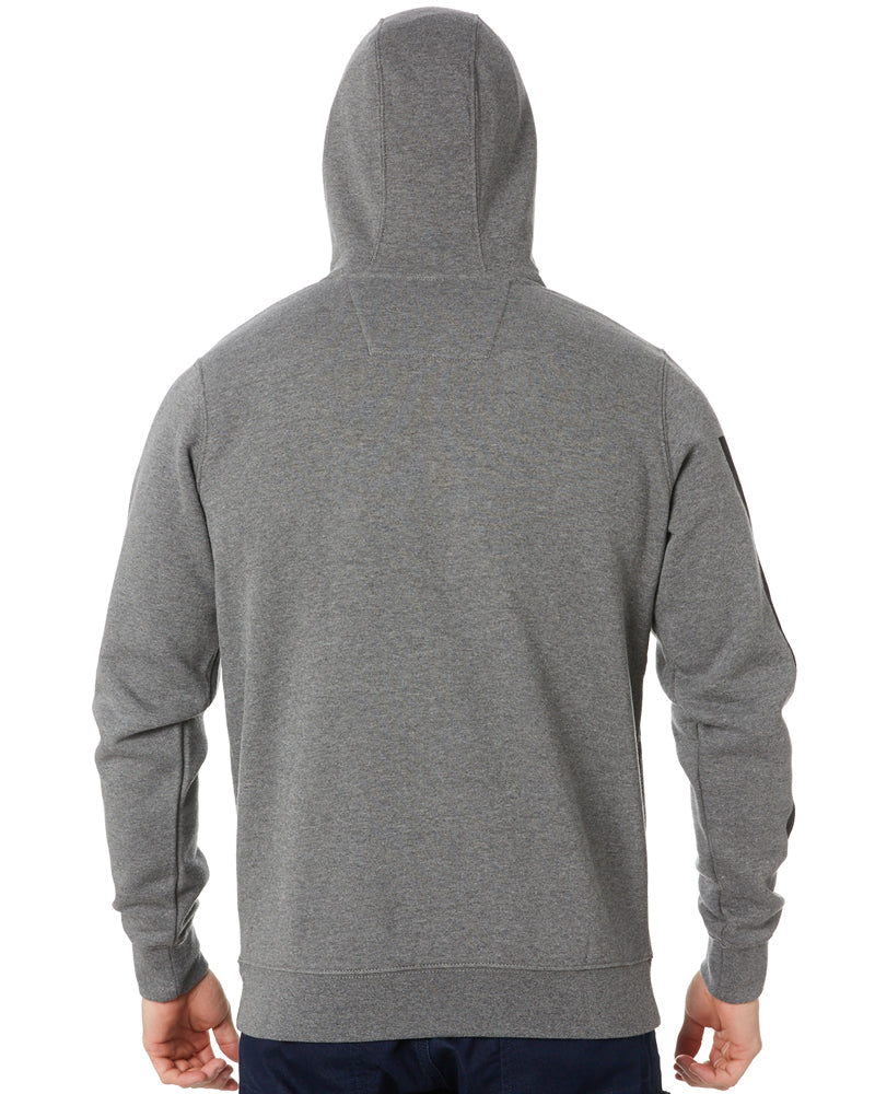 Icon Block Hoodie - Dark Heather Grey