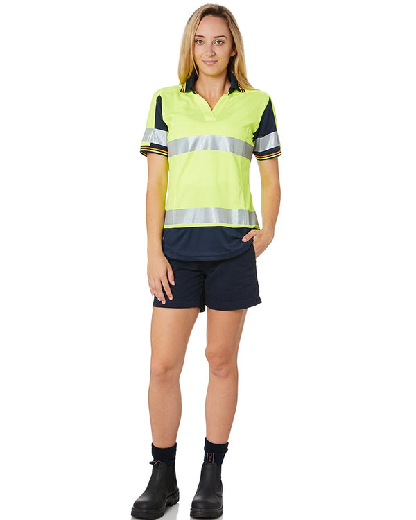 WS-2W Ladies Lightweight Work Shorts - Navy