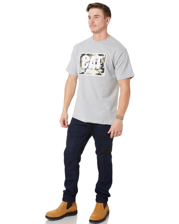 Diesel Power Tee - Grey