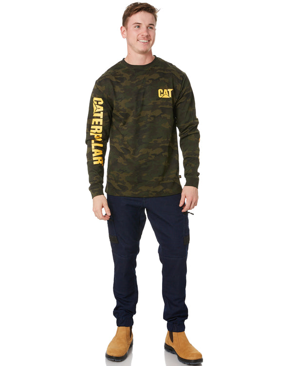 Trademark Banner LS Tee - Night Camo