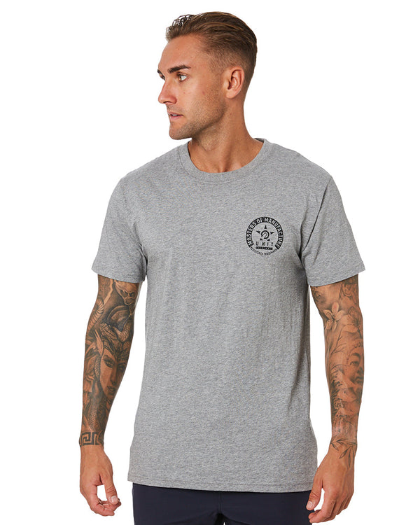 Branch Tee - Grey Marle