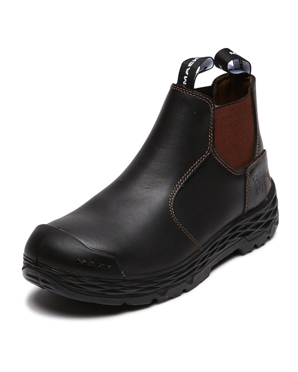 Hub Elastic Sided Safety Boot - Claret