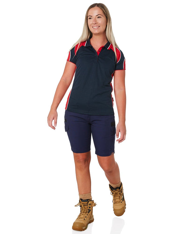 Womens Flex & Move Cargo Short - Navy
