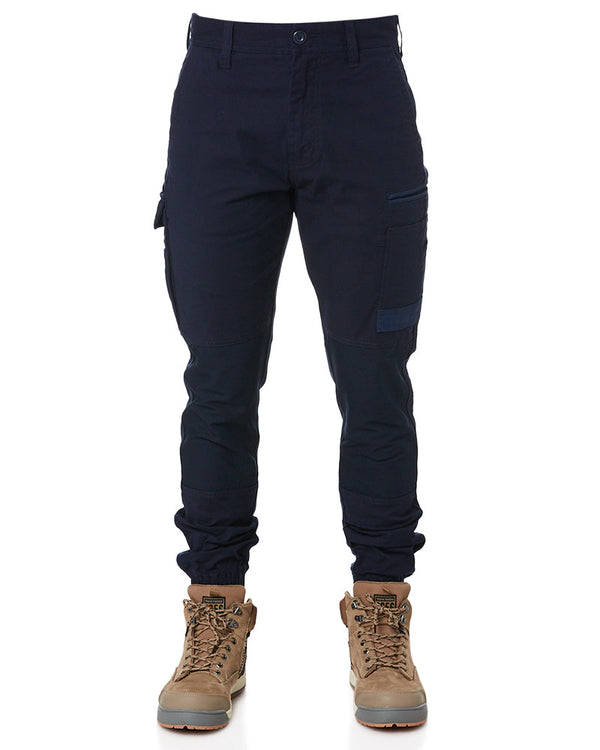 WP-4 Stretch Cuffed Work Pants - Navy