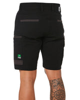WS-3 Stretch Work Short - Black