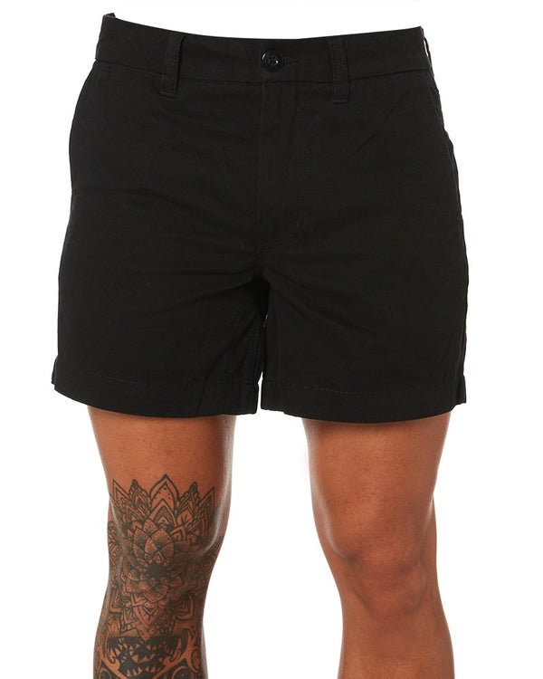 WS-2 Short Lightweight Work Shorts - Black