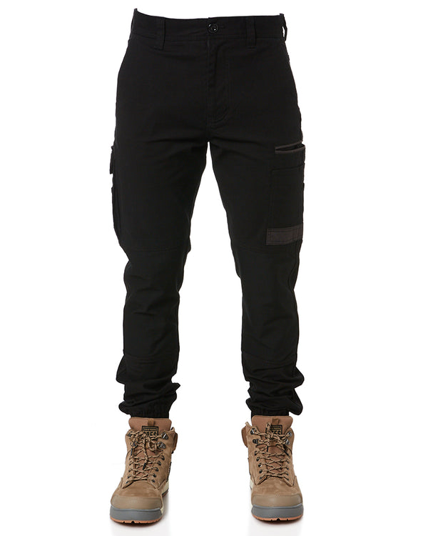 WP-4 Stretch Cuffed Work Pants - Black