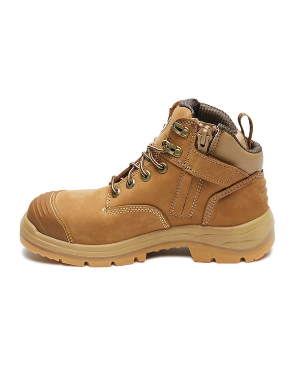 AT 55-350Z Hiker Safety Boot with Zip  - Stone
