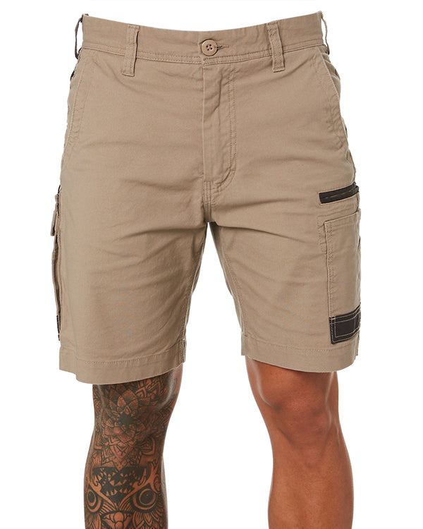 WS-3 Stretch Work Short - Khaki