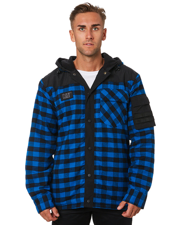 Sequoia Shirt Jacket - Blue/Black