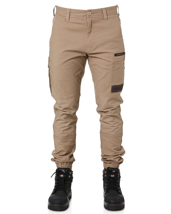 WP-4 Stretch Cuffed Work Pants - Khaki