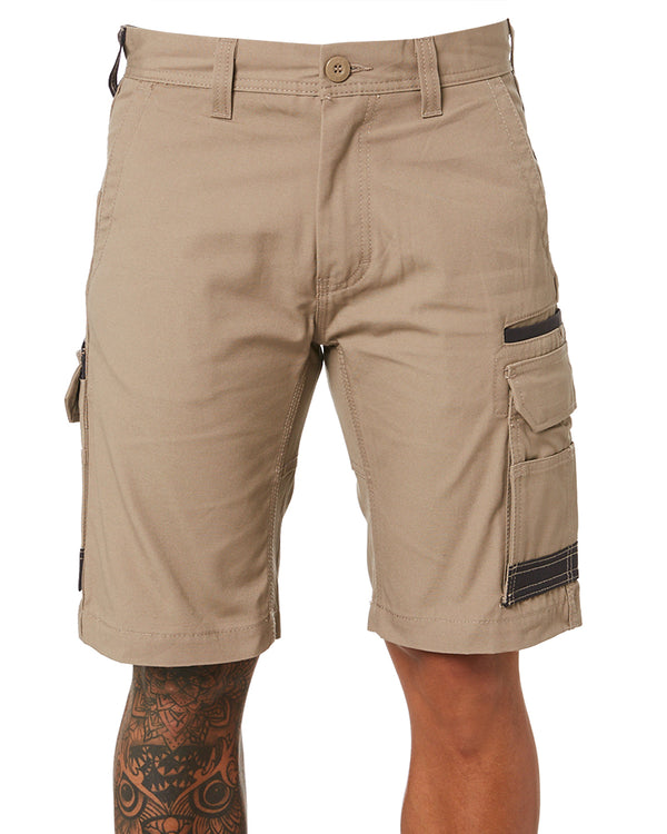 WS-1 Cargo Work Shorts - Khaki