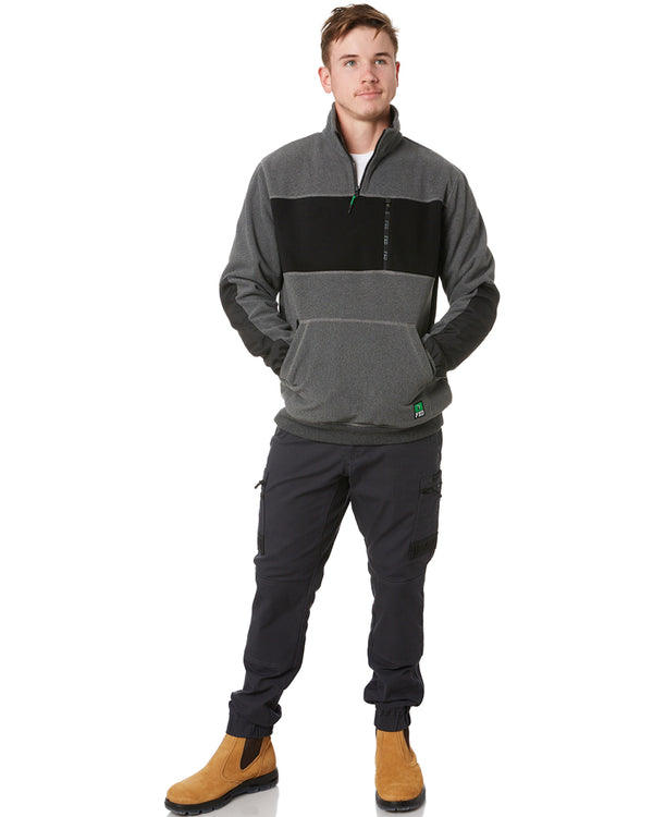 WF-2 Work Fleece 1/4 Zip - Grey Marle