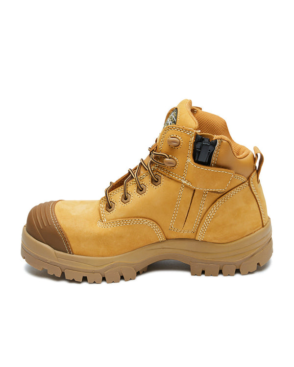 AT 45-630Z Hiker Safety Boot with Zip - Wheat