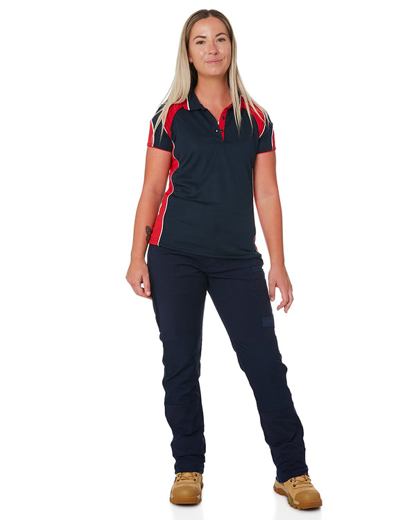 WP-3W Ladies Stretch Work Pants - Navy