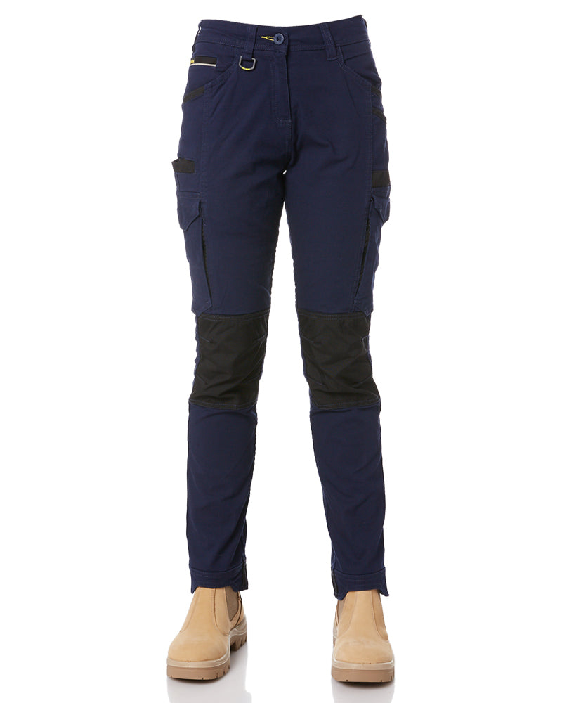 Womens Flex and Move Cargo Pants - Navy