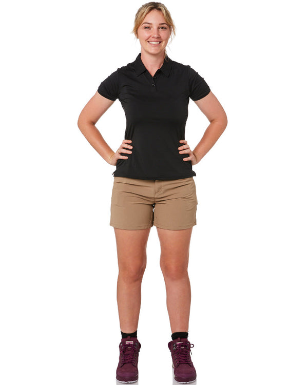 Ladies Flexlite Shorts - Khaki