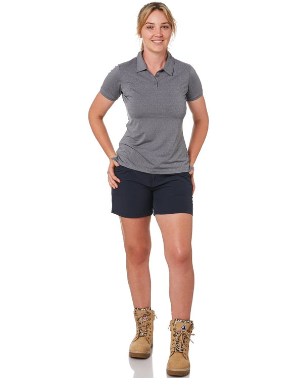 Ladies Flexlite Shorts - Navy