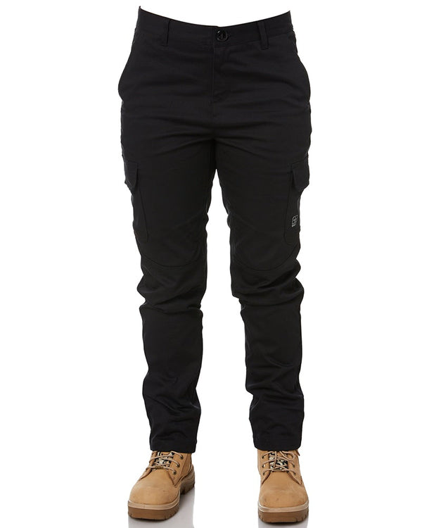 Ladies Staple Cargo Pants - Black
