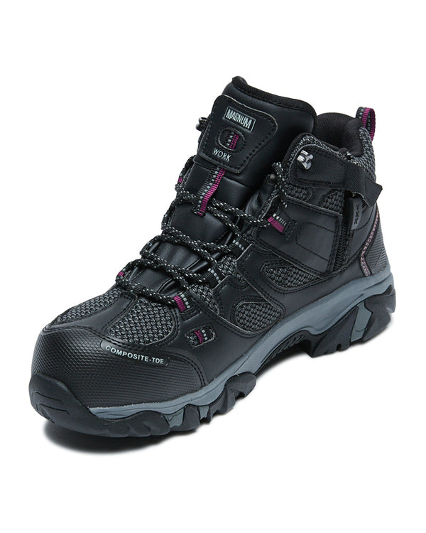 Womens X-T Boron Mid CT SZ WP - Black/Purple