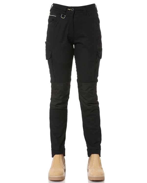 Womens Flex and Move Cargo Pants - Black