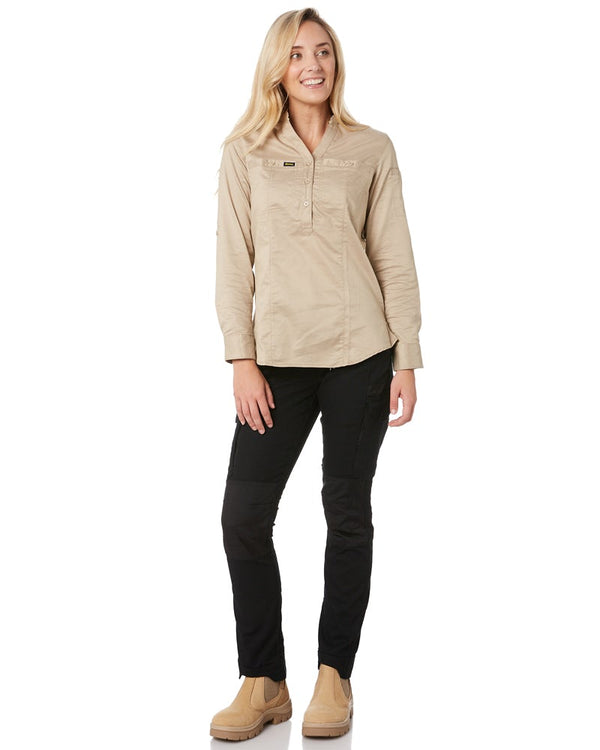 Womens Flex & Move Cargo Pants - Black