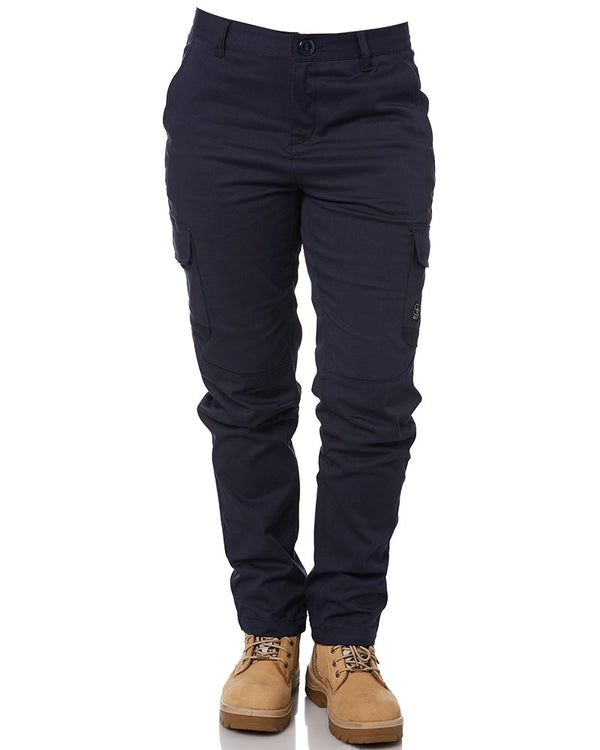 Ladies Staple Cargo Pants - Navy