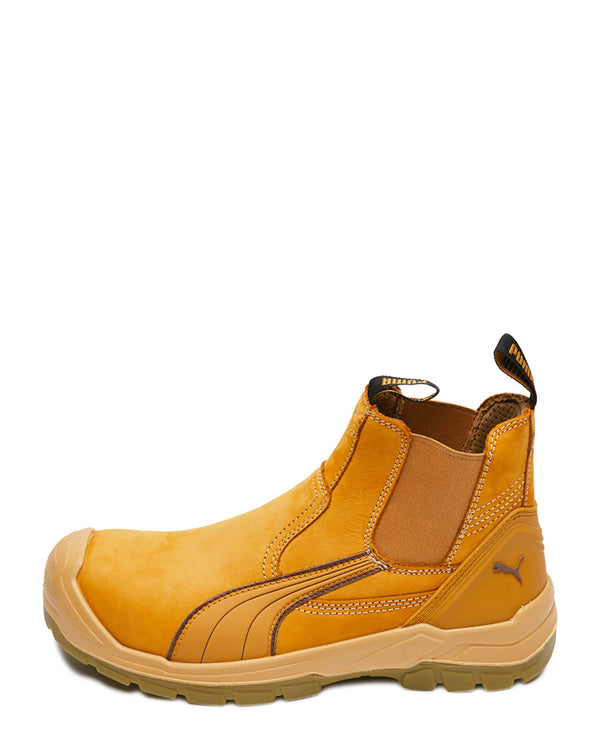 Tanami Scuff Cap Elastic Sided Boot - Wheat