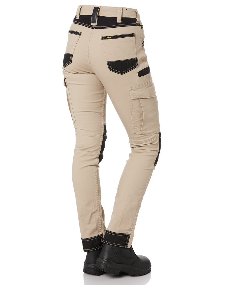 Womens Flex and Move Cargo Pants - Stone