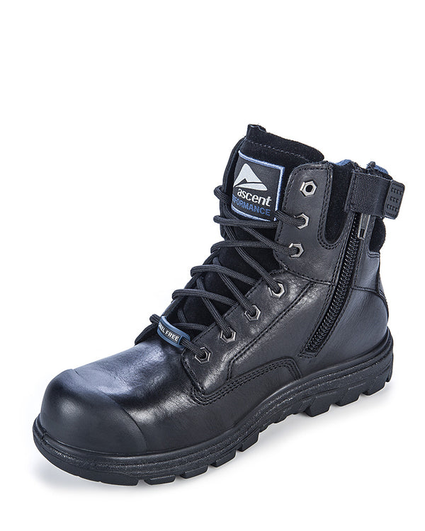 Alpha 2 (4e) Black Lace Up Boot - Black