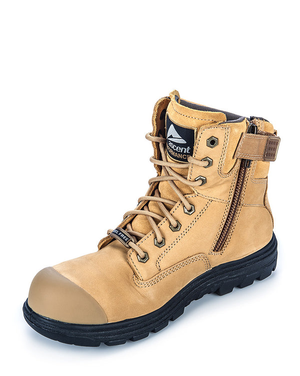 Alpha 2 (4e) Wheat Lace Up Boot - Wheat