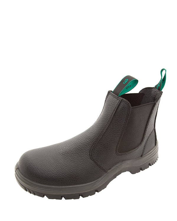 Hercules Elastic Sided Safety Boot - Black