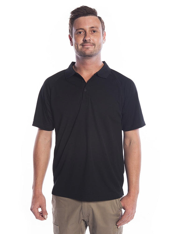 Sprint Biz Cool Polo - Black