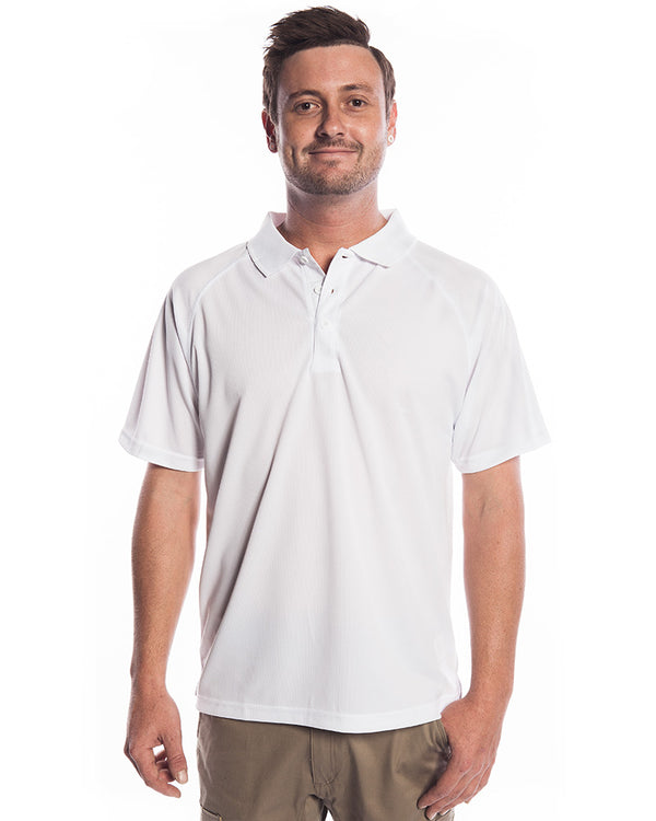 Sprint Biz Cool Polo - White