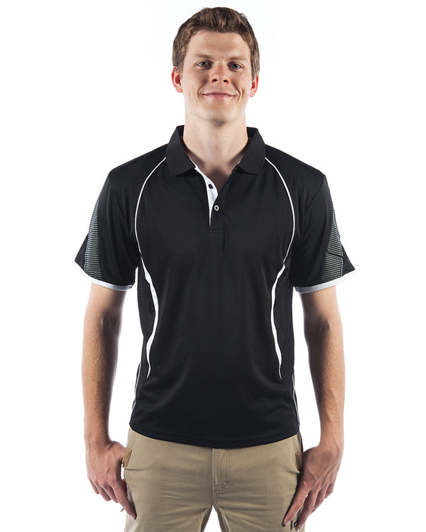 Razor Polo - Black/White