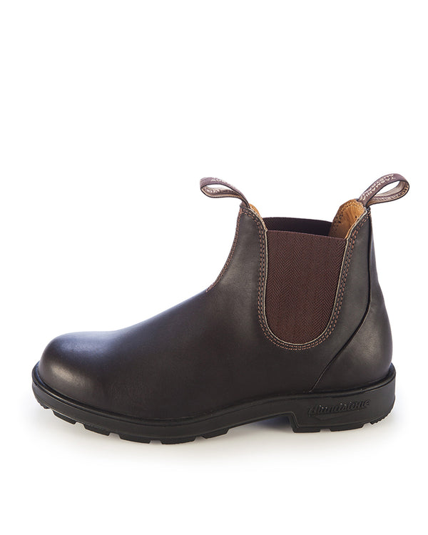 600 Elastic Side Work Boot - Brown