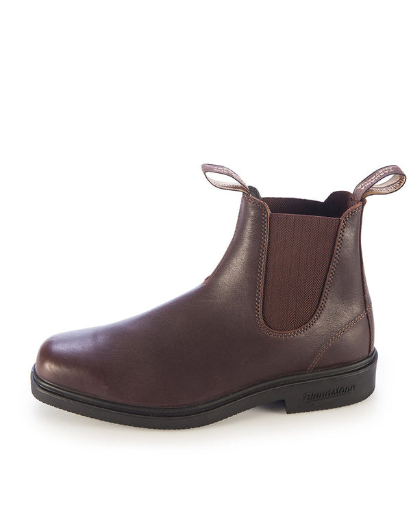 659 Elastic Side Dress Boot - Brown