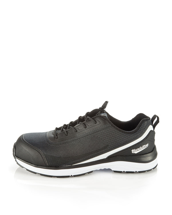 793 Safety Shoe - Black/White